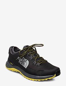 M ULTRA TRACTION - running shoes - tnf blk/zinc gr