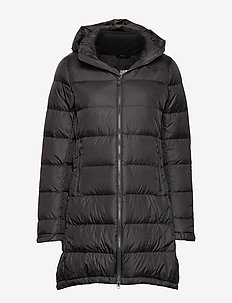 W MTRPLS PRKA 3 - down jackets - tnf black