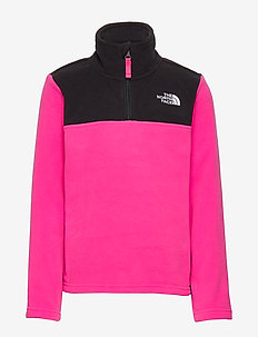 Y GLACIER 1/4 ZIP - MR. PINK