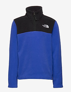 Y GLACIER 1/4 ZIP - TNF BLUE