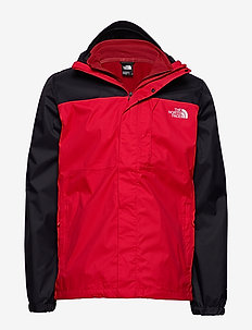 M QUEST TRI JKT - 3-in-1 jackets - tnf red/tnf black