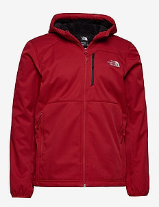 M QUEST HOODED SOFTS - softshelljacke - cardinal red he