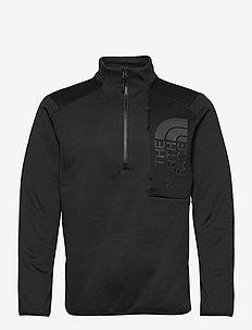 M MERAK 1/4 ZIP - basic sweatshirts - tnf black