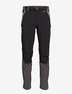 M DIABLO II PANT - softshell pants - tnf black/chlor
