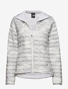 W THERMOBALL ECO JAC - insulated jackets - tnf white waxed