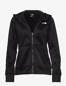 W SURGENT FULLZIP HD - TNF BLACK HR