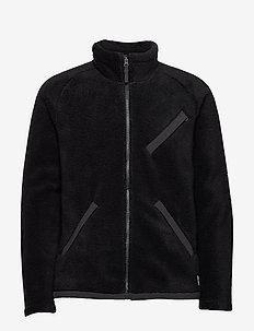 M CRAGMNT FLC JKT - mittlere lage aus fleece - tnf black