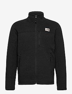 M GORDON LYONS FZ - sweaters - tnf black heather