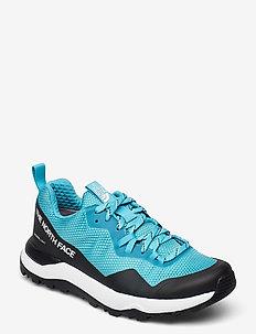 W ACTIVIST FUTRLIGHT - hiking shoes - maui blue/tnf black