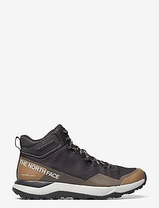 M ACTIVIST MID FTRLT - chaussures de randonnée - asphalt grey/moab khaki