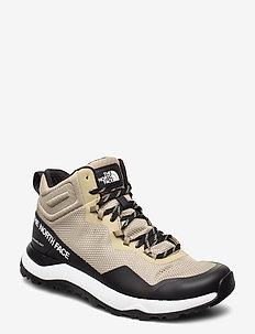 M ACTIVIST MID FTRLT - buty na wędrówki - kelptan/tnfblck