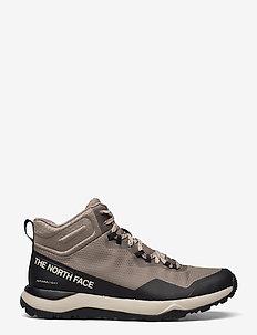 M ACTIVIST MID FTRLT - buty na wędrówki - mineral grey/tnf black
