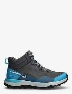 W ACTIVIST MID FTRLT - buty na wędrówki - zinc grey/maui blue