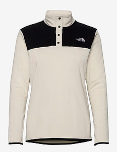 W TKA GLCR SNPO - fleece - vintage white - tnf black