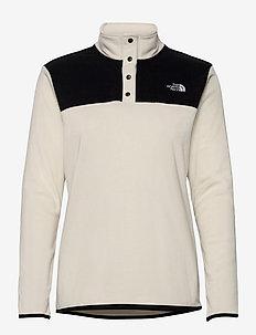 W TKA GLCR SNPO - mid layer jackets - vintage white - tnf black