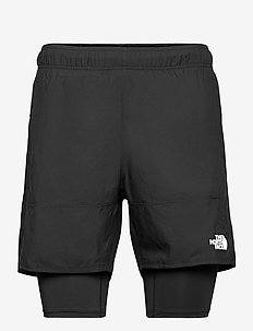 M AT DUAL SHORT - wandel korte broek - tnf black
