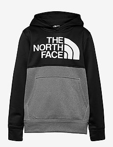 B SURGENT P/O BLOCK - hoodies - tnf medium grey heather-tnf black