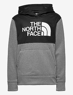 B SURGENT P/O BLOCK - huvtröja - tnf medium grey heather
