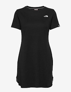 W SIMPLE DM DRESS - sports dresses - tnf black
