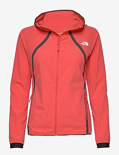 W VARUNA WND JKT PRT - outdoor & rain jackets - cayenne red