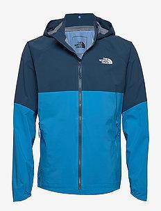 M VARUNA JKT - shell jackets - clrlkbl/blwngtl