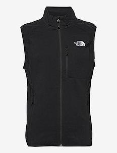 M NIMBLE VEST - jakker og regnjakker - tnf black