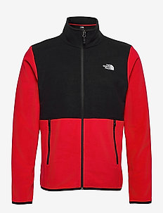 M TKAGLCR FZJKT - fleece - tnf red-tnf black