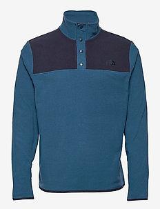 M TKAGLCR SNPNK PO - basic-sweatshirts - monterey blue-aviator navy