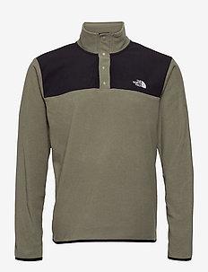 M TKAGLCR SNPNK PO - basic-sweatshirts - nwtpegrn/tnfblk