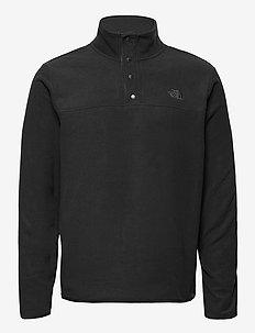 M TKAGLCR SNPNK PO - basic sweatshirts - tnf black-tnf black