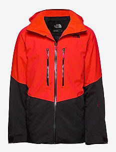 M CHAKAL JKT - insulated jackets - fiery red/black