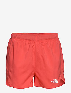 W AT RUN SHORT - treenishortsit - cayenne red
