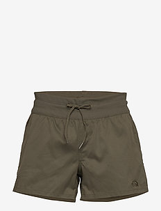 W APHRODITE MOTN SHO - outdoor-shorts - new taupe green