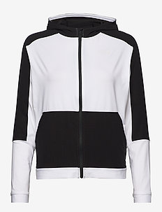 W ACTIVE TRAIL FZ - mid layer jackets - tnf white
