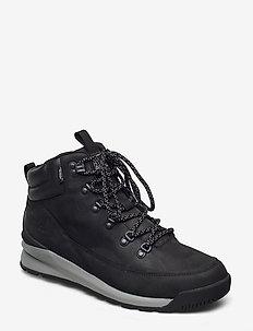 M B2B MID WP - chaussures de randonnée - tnf black/griffin grey