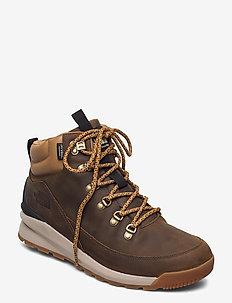 M B2B MID WP - chaussures de randonnée - utility brown/tnf black