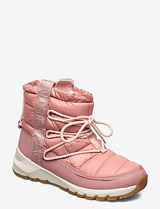 W THERMOBALL LACE 3 - platta ankelboots - pink clay/morning pink