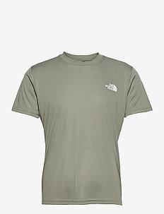 M REAXION RED BOX TE - t-shirts à manches courtes - agave green