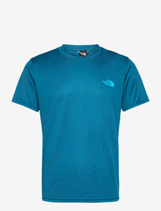 M REAXION RED BOX TE - t-shirts à manches courtes - moroccan blue