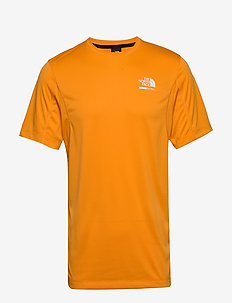M GLACIER S/S TEE - t-shirts - flame orange