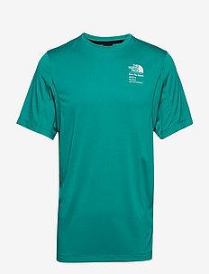 M GLACIER S/S TEE - t-shirts - jaiden green
