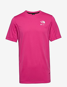 M GLACIER S/S TEE - urheilutopit - mr. pink