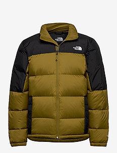 M DIABLO DWN JKT - down jackets - fir green/tnf black