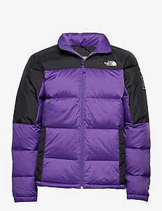 M DIABLO DWN JKT - dunjakker - peak purple/tnf black