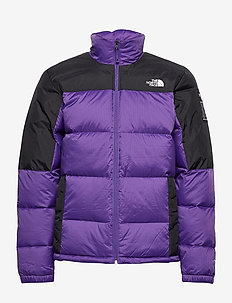 M DIABLO DWN JKT - frilufts- og regnjakker - peak purple/tnf black