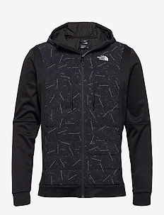 M TRAIN N LOGO HYBRID INSULATED JACKET - isolerende jakker - tnf black