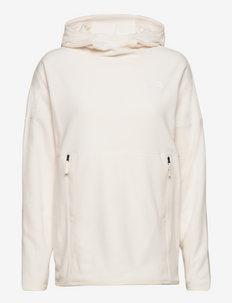 W TKA GLCR LNG PO HD - fleece - gardenia white