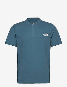 M AT POLO - topy sportowe - mallard blue