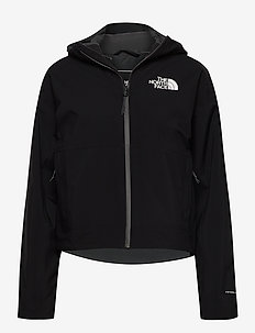 W ARQUE AT FL VNTX J - friluftsjackor - tnf black