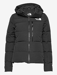 W HVNLY DWN JKT - laskettelutakki - tnf black